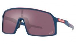 Oakley Sutro Sunglasses - Tour De France Collection Matte Poseidon / Prizm Road Black