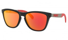 Oakley Frogskins Mix Sunglasses - MotoGP Collection - Matte Black Ink / Prizm Ruby
