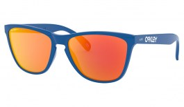 Oakley Frogskins 35th Anniversary Sunglasses - Primary Blue / Prizm Ruby