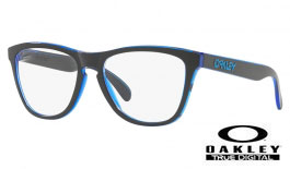 Oakley Frogskins Rx Prescription Glasses - Eclipse Collection - Eclipse Blue - Oakley Lenses