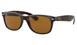 Ray-Ban RB2132 New Wayfarer Sunglasses - Tortoise / B-15 Brown