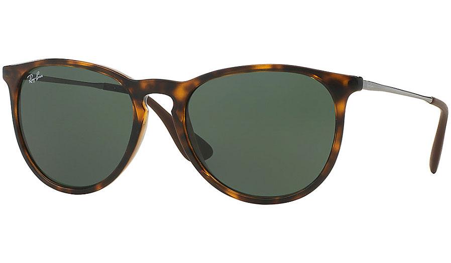 17fd4c18780 Ray-Ban RB4171 Erika Sunglasses - Tortoise   Green