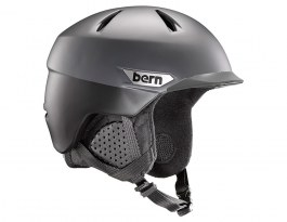 Bern Weston Peak Ski Helmet - Satin Black Two-Tone