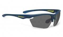 Rudy Project Stratofly Prescription Sunglasses - ImpactRX Directly Glazed - Matte Navy Blue