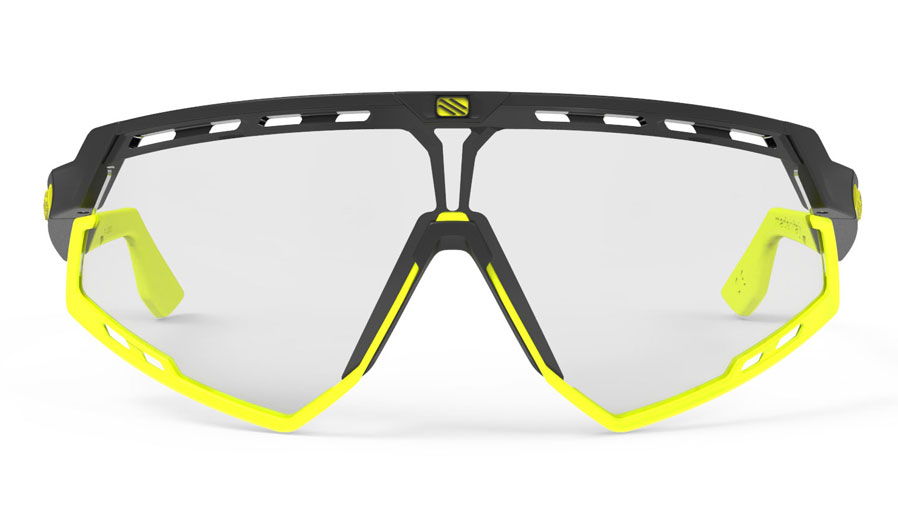 a4836b6344 Rudy Project Defender Sunglasses - Matte Black   Fluo Yellow ...