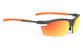 1cc036b57d Rudy Project Rydon Sunglasses w Clip-On Prescription Insert - Matte  Graphite   Orange. Frame  Matte Graphite   Orange. Lens  Polar 3FX HDR  Multilaser Orange