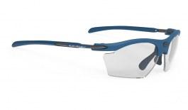 Rudy Project Rydon Slim Prescription Sunglasses - Clip-On Insert - Matte Pacific Blue / ImpactX 2 Photochromic Black