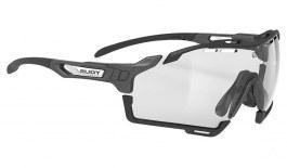 Rudy Project Cutline Prescription Sunglasses (Graphene Edition) - Clip-On Insert - Graphene Black / ImpactX 2 Photochromic Black