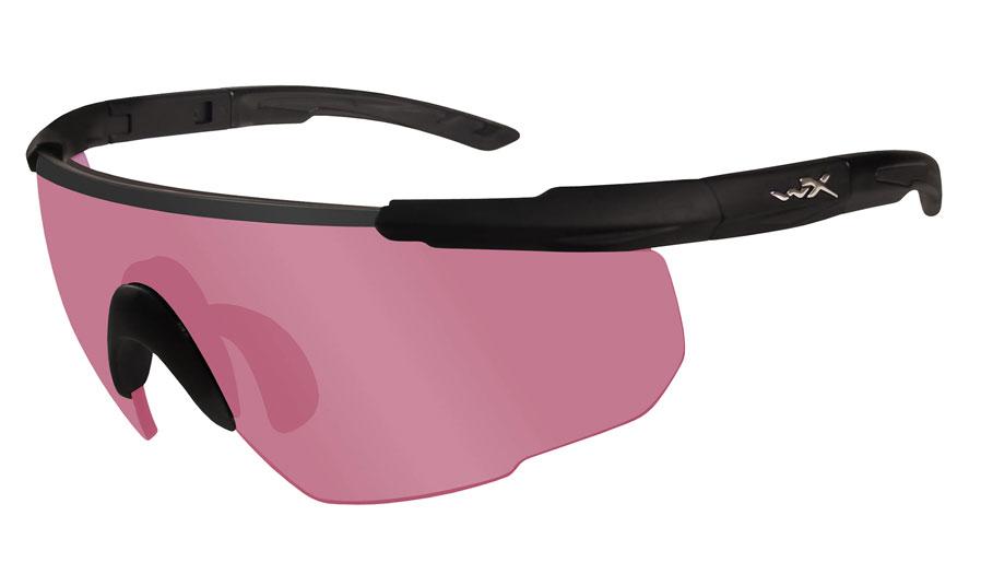 Wiley X Saber Advanced Sunglasses - Matte Black / Vermillion