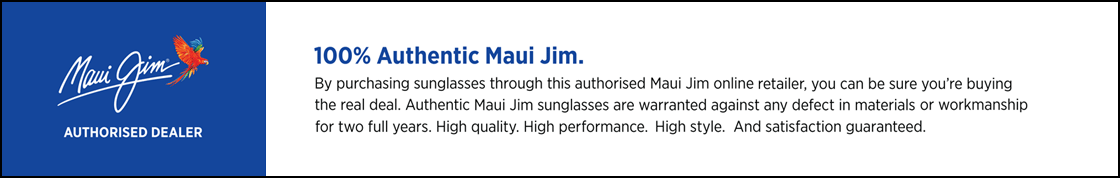 Maui Jim Authorised Dealer